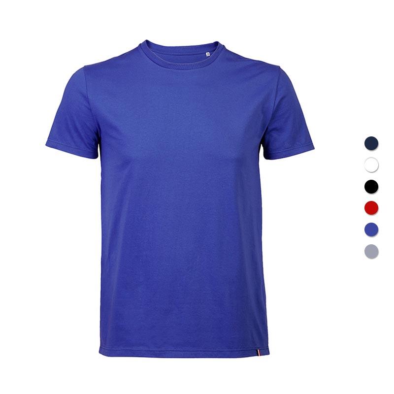 T-shirt publicitaire en coton Léon 150 g - Coloris disponible