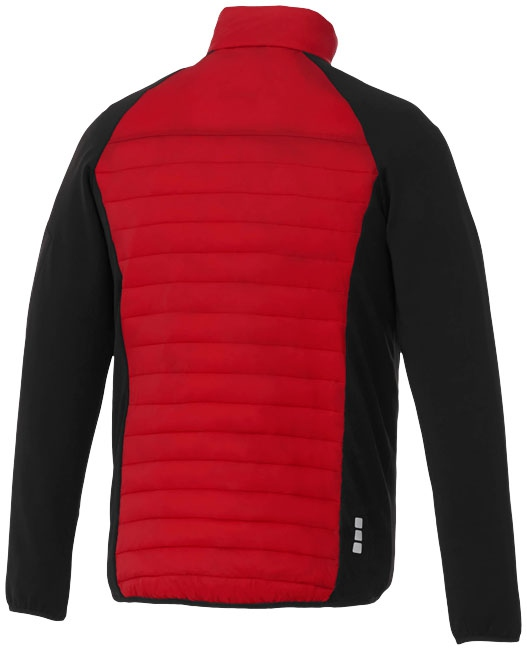Textile publicitaire - Doudoune publicitaire hybride Banff homme