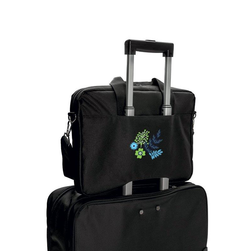 Sacoche ordinateur portable Swiss Peak® 15 pouces Sion - Cadeau publicitaire