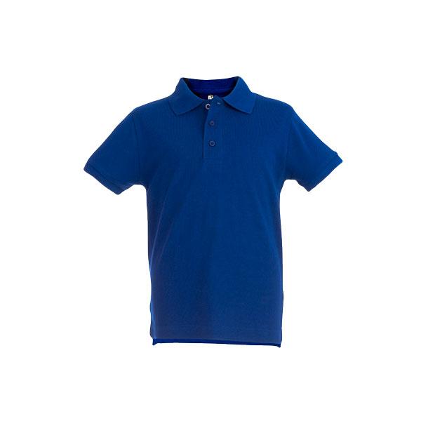 Textile publicitaire - Polo personnalisé enfant unisexe Adam Color - bleu