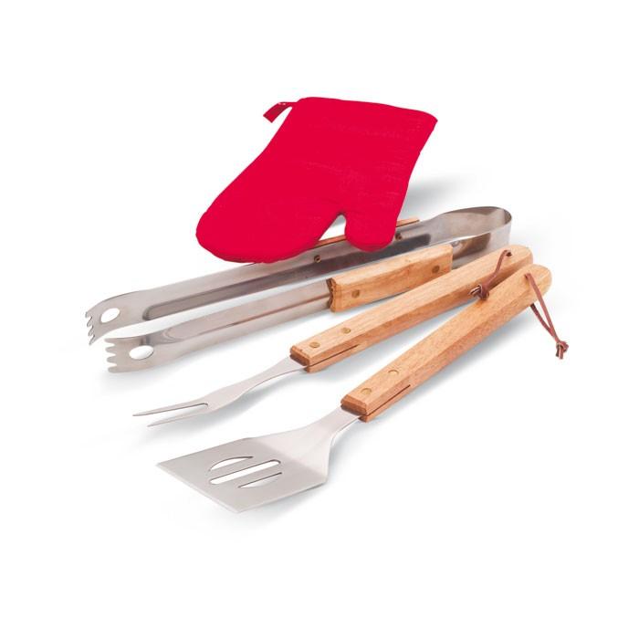 Tablier de cuisine personnalisable Donau East BBQ - cadeau d'entreprise personnalisé