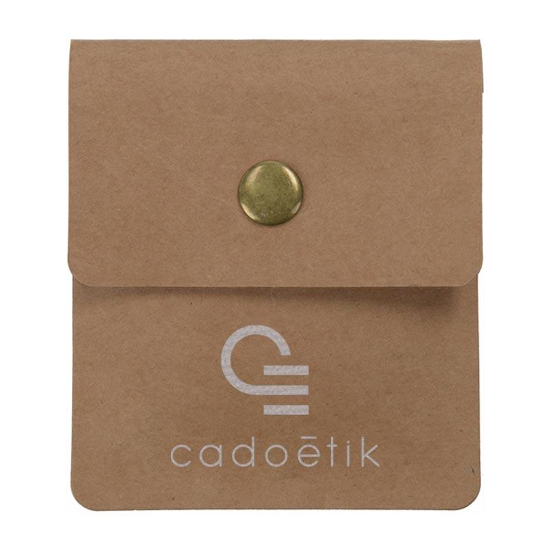 Cendrier de poche publicitaire en papier Cendkra