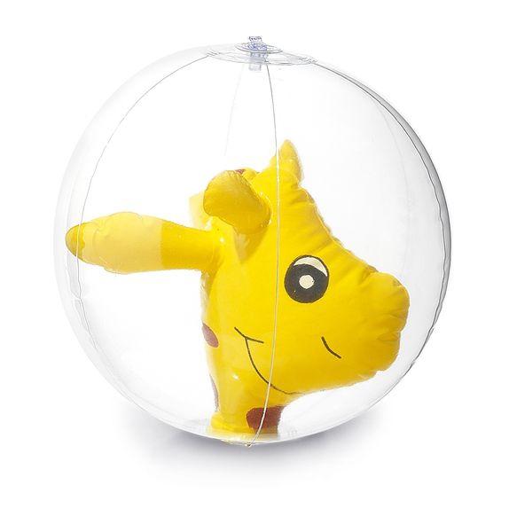 Goodies été - Ballon gonflable publicitaire Figurine Girafe