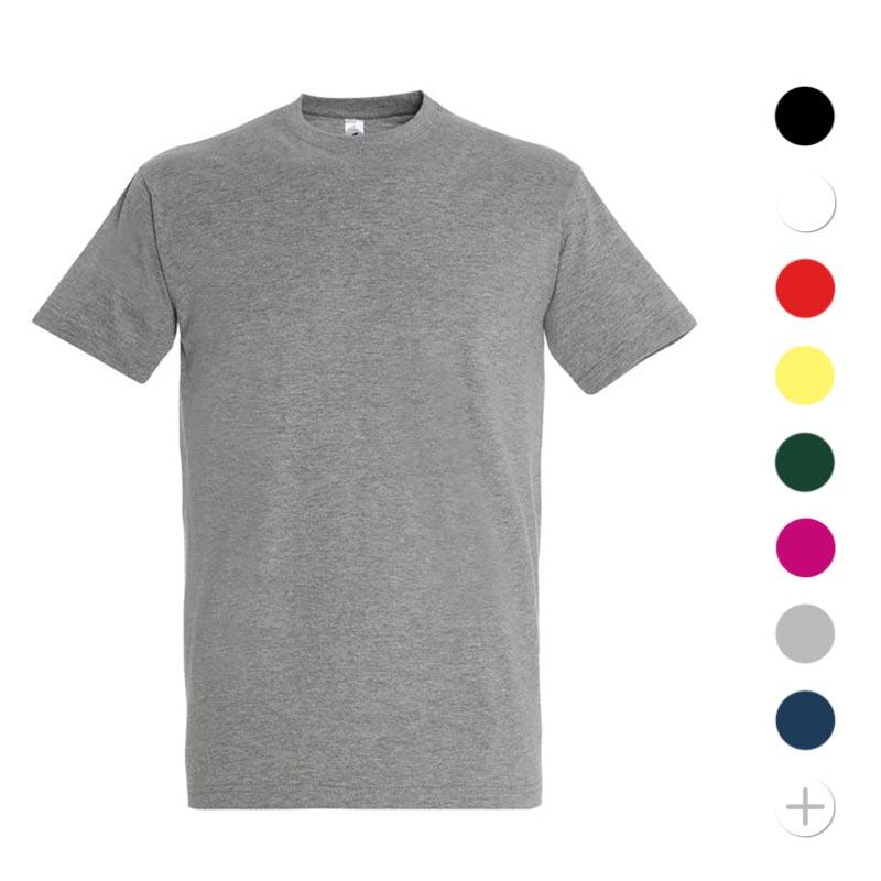 T-shirt publicitaire homme en coton Imperial - Coloris disponibles