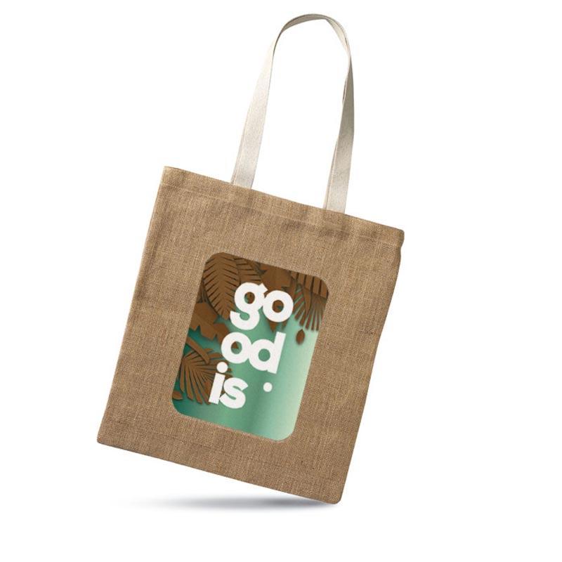 Goodies écologique - Sac provisions en jute