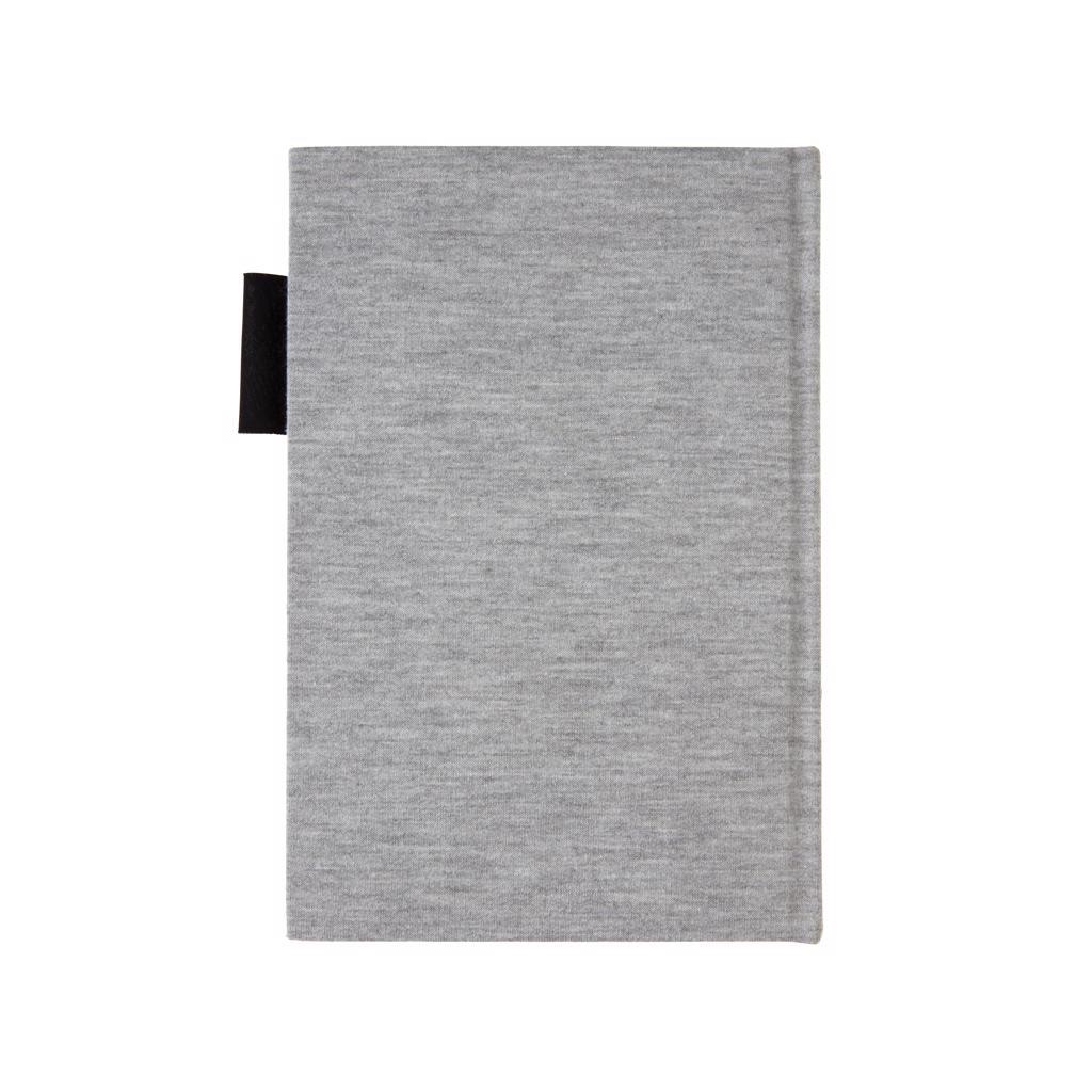Carnet A5 publicitaire Jersey - Carnet personnalisable