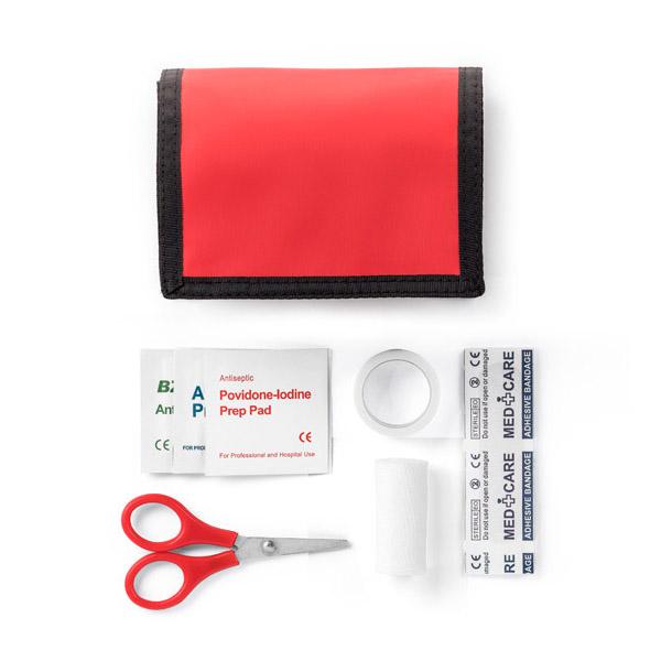 Objet publicitaire santé - Kit premiers soins Rescousse