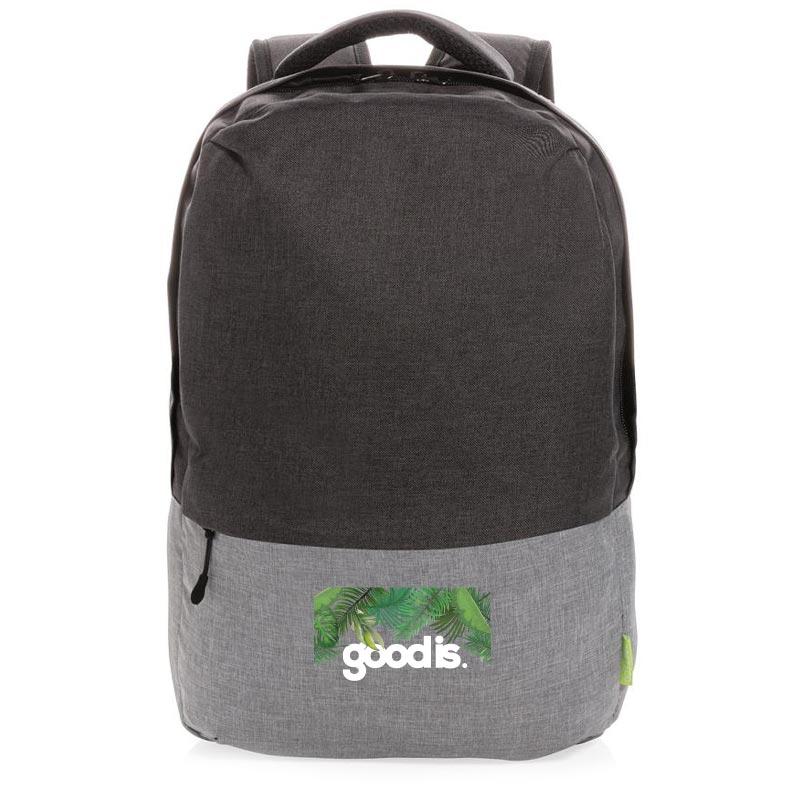 sac à dos publicitaire pour ordinateur Duo Color - devant