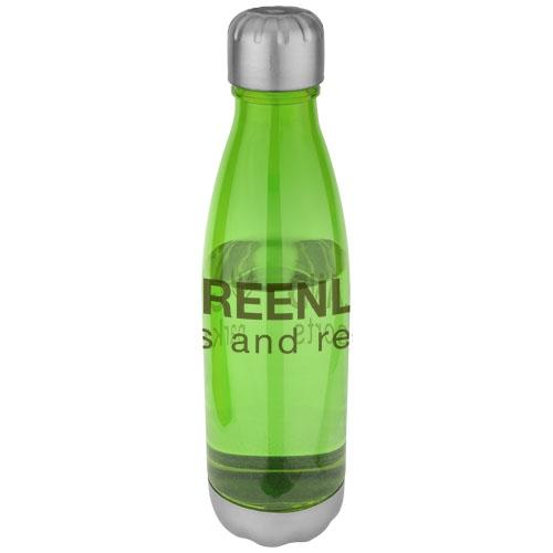 Bouteille publicitaire 685 mL Aqua verte - bouteille personnalisable