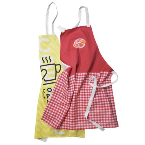 Tablier de cuisine publicitaire Louise - cadeau publicitaire cuisine