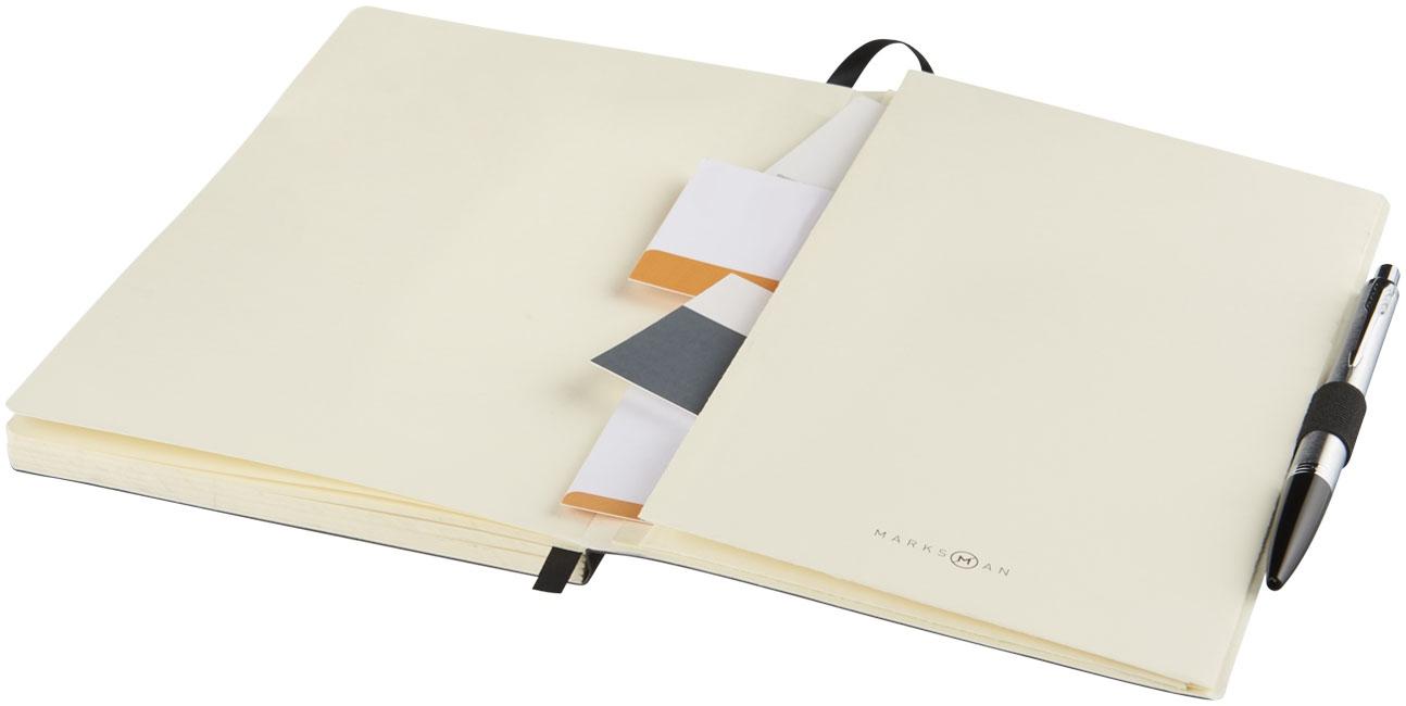 Bloc-notes publicitaire Revello avec couverture souple - carnet personnalisable