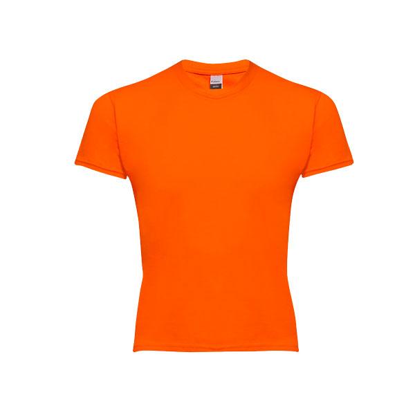 T-shirt personnalisable unisexe pour enfant Quito couleur orange