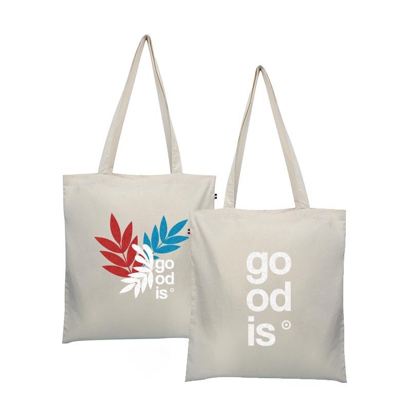 Tote bag publicitaire en coton bio Thomas - Goodies entreprise