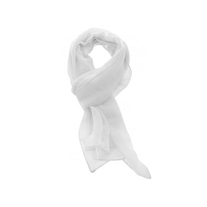 Foulard blanc - Cadeau publicitaire