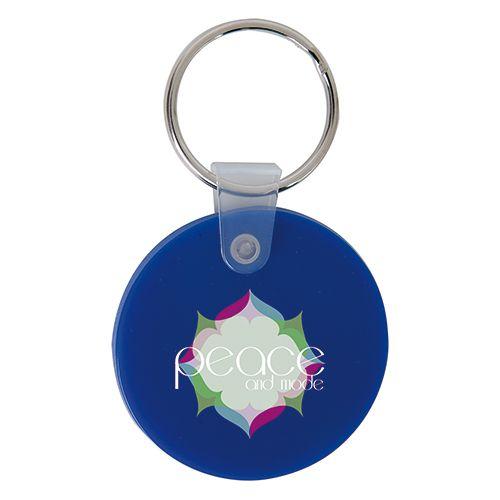 Porte clé personnalisé en plastique souple - porte clef publicitaire