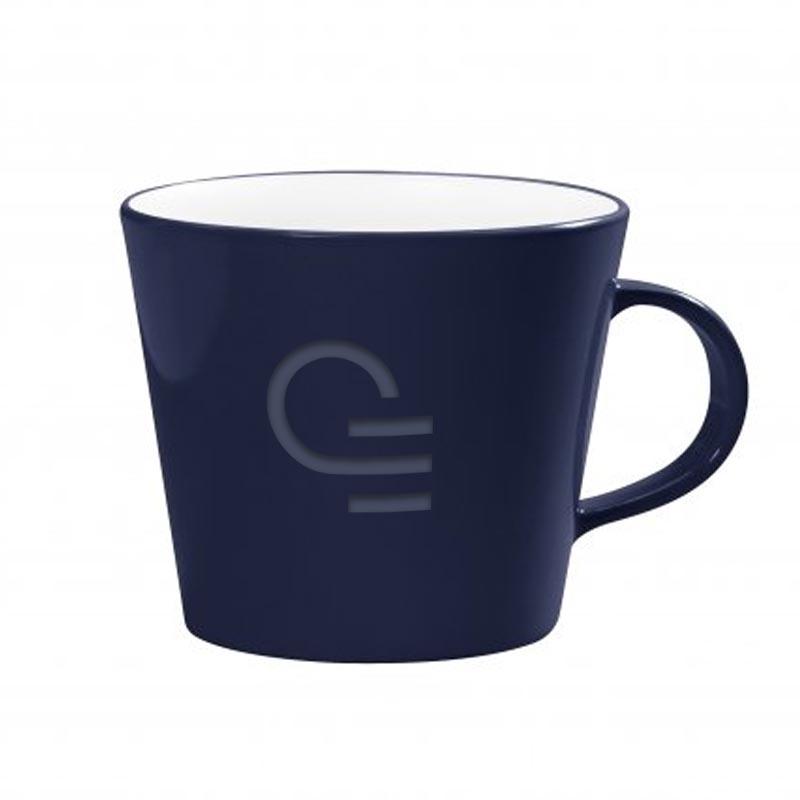 Mug publicitaire en rPET Newlifz 330 mL - Coloris bleu