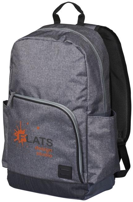 """Sac à dos pour ordinateur personnalisé 15"""" Grayson - sac à dos pour ordinateur publicitaire"""
