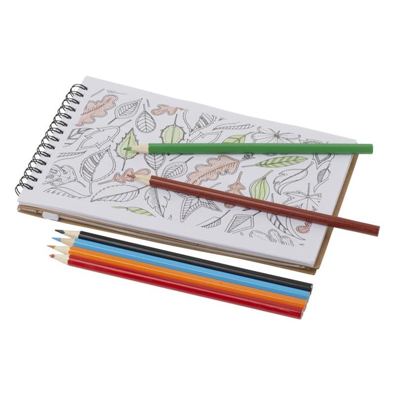 Set de coloriage publicitaire Hoppi - Intérieur