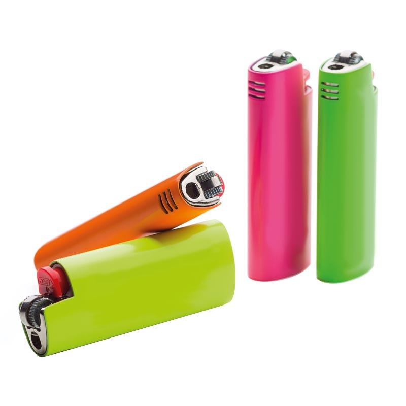 Étui pour briquet publicitaire Lighter Neon BIC® - Coloris disponibles