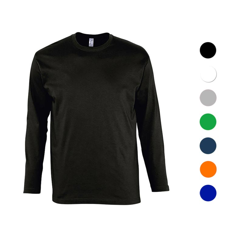 Gamme de coloris pour t-shirt publicitaire Monarch