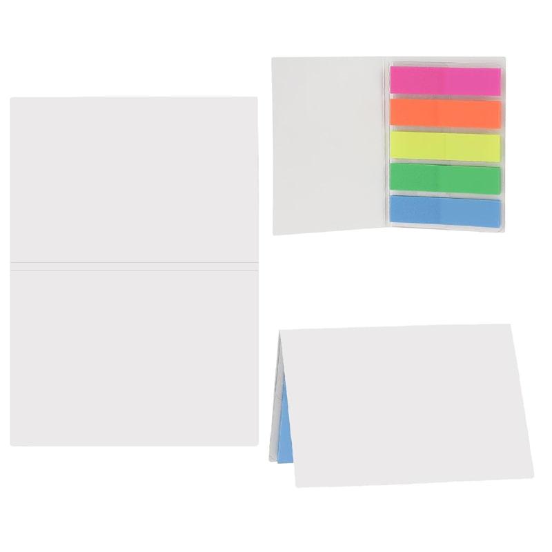 Carnet publicitaire de feuillets adhésifs multicolores BIC®
