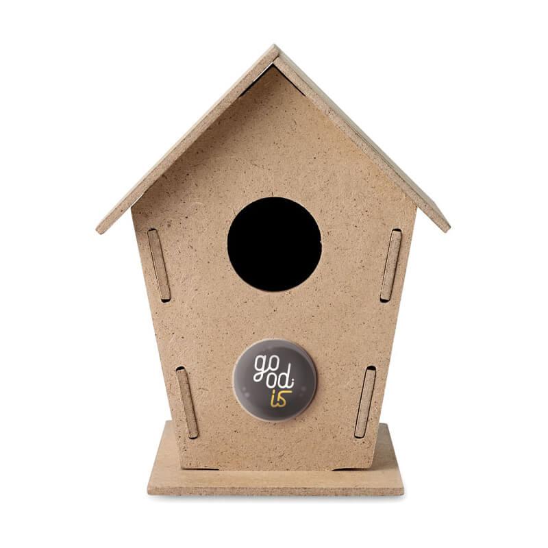 Objet pub écolo - Nichoir à oiseaux Woohouse