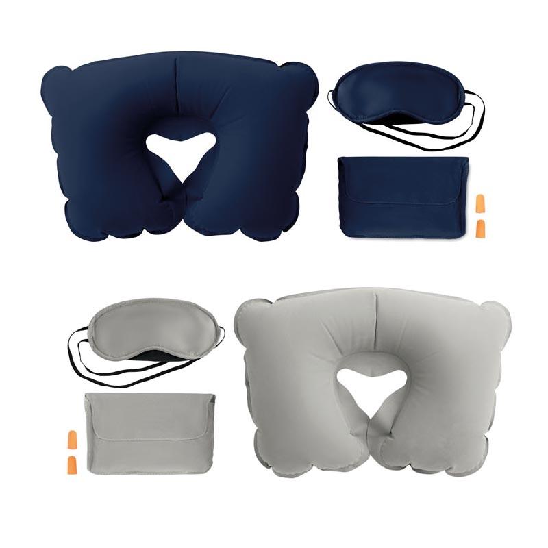 Goodies voyage - Set oreiller, masque, bouchons