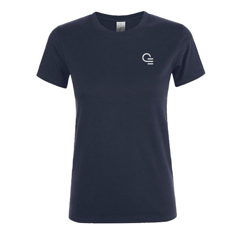 T-shirt publicitaire femme Regent - Coloris bleu