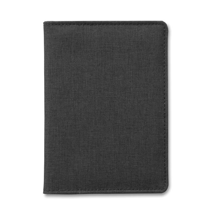 Portefeuille publicitaire pour passeport Shieldoc anti-RFID