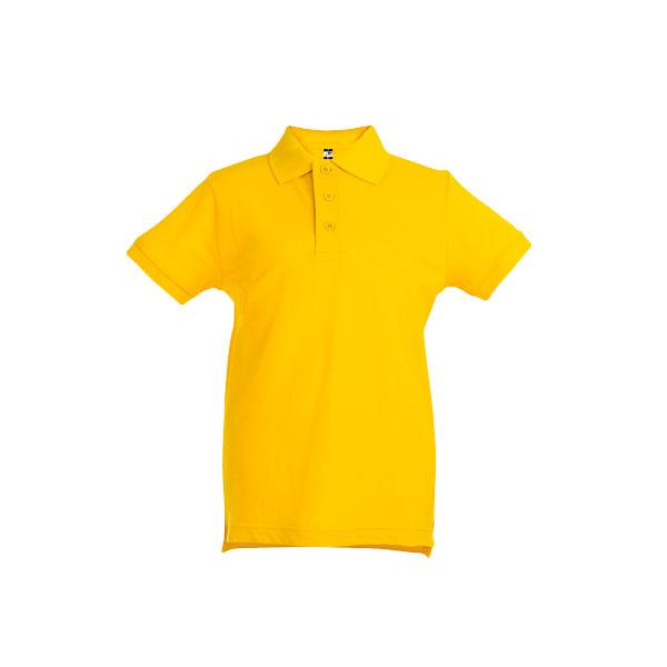 Textile promotionnel - Polo publicitaire enfant unisexe Adam Color - bordeaux