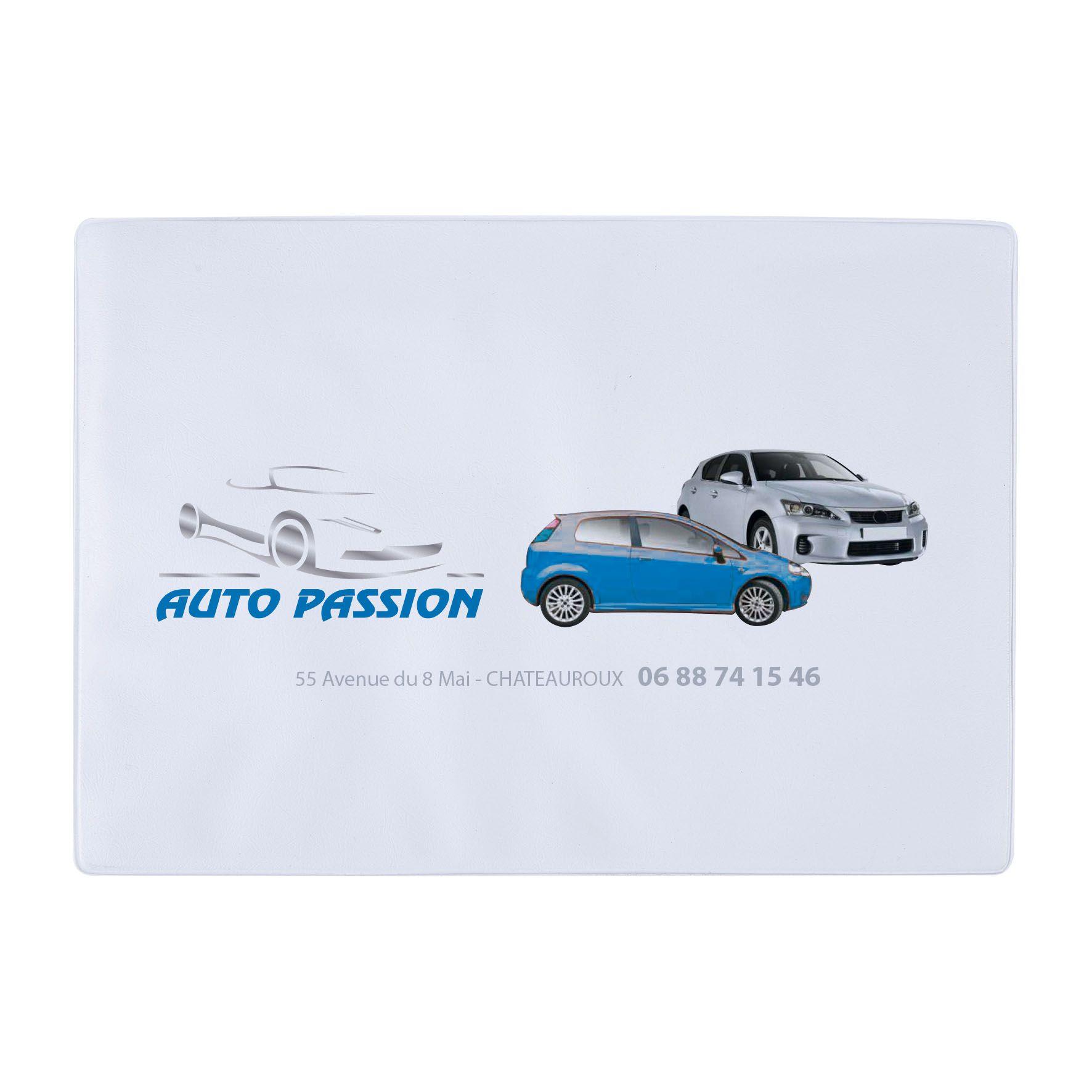 Objet promotionnel automobile - Porte-constat Auto - Pochette publicitaire Auto