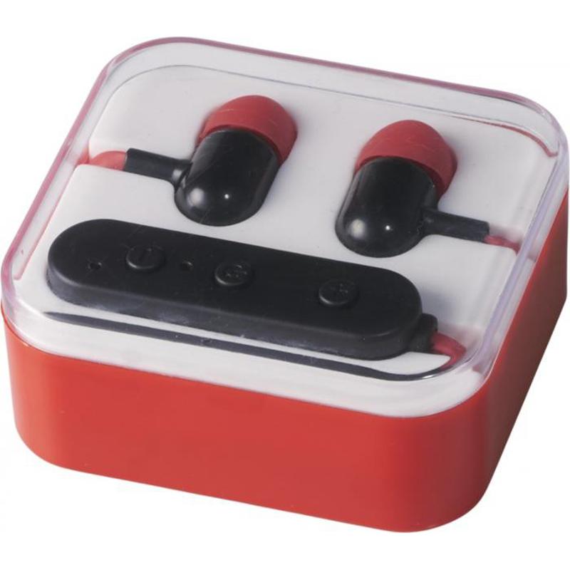 Ecouteurs Bluetooth® publicitaires Color Pop  bleu