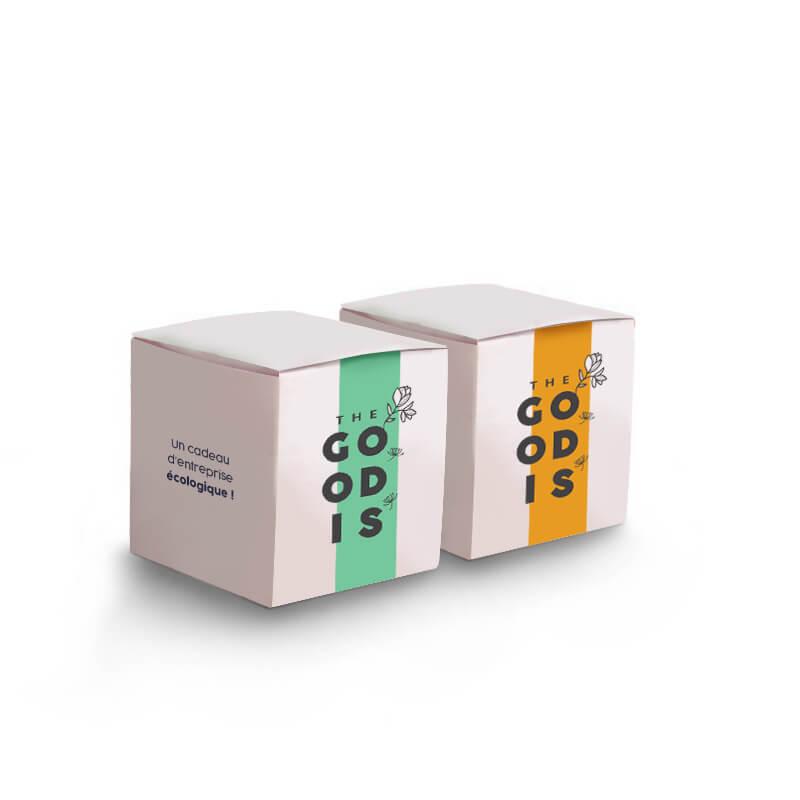 Goodies green - Le Cube de plantation 65 mm3