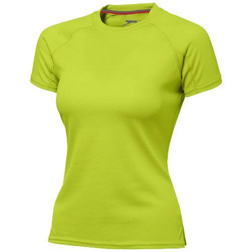 T-shirt personnalisé cool fit manches courtes pour femmes Serve - vert