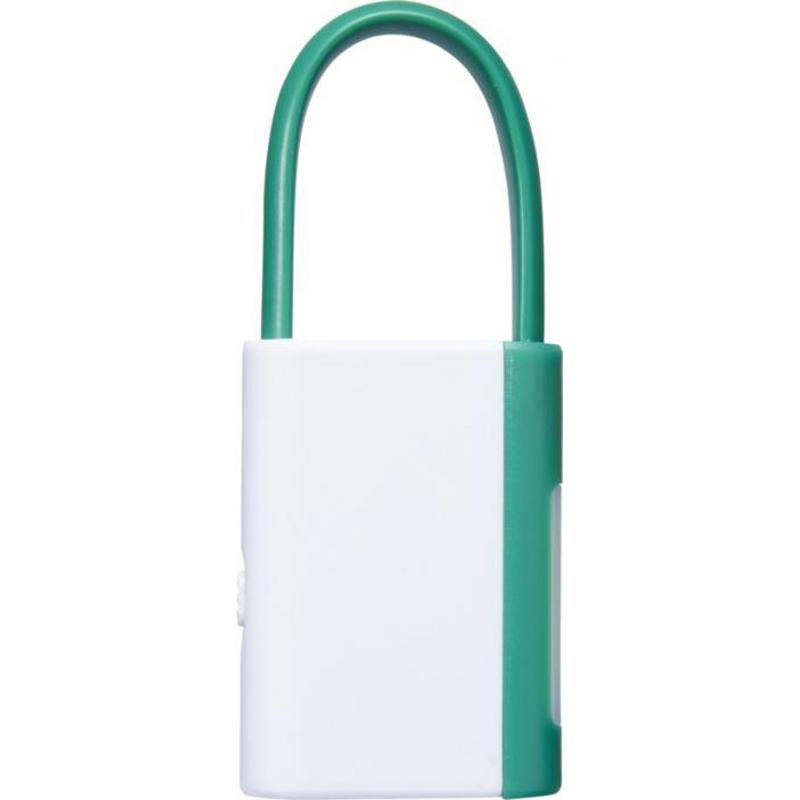 Lampe de poche publicitaire avec mousqueton Libra - cadeau publicitaire