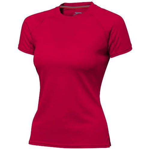Tee-shirt publicitaire - T-shirt personnalisé cool fit manches courtes pour femmes Serve