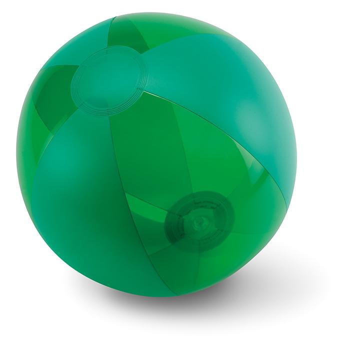 Ballon de plage publicitaire Aquatime jaune - Cadeau personnalisable