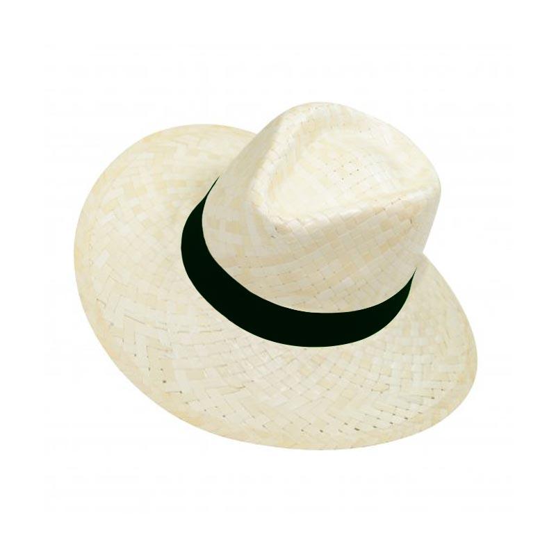 Chapeau publicitaire Panama à personnaliser pour logo