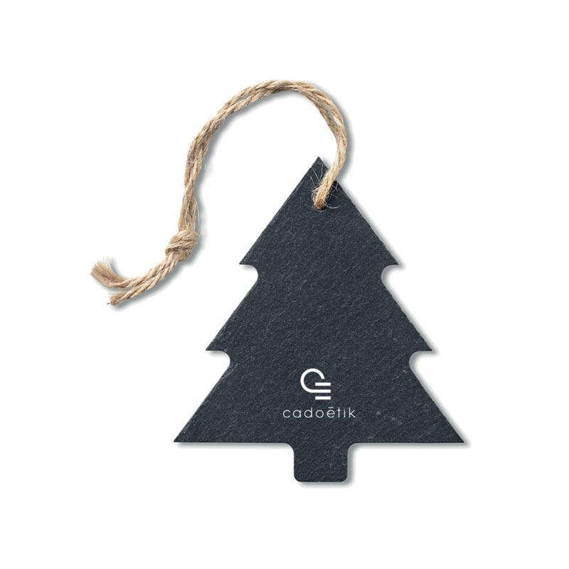 Goodies Noël - Suspension arbre en ardoise Slatetree
