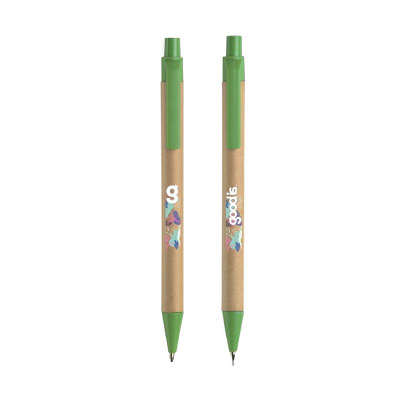 Parure stylo & crayon Greenset