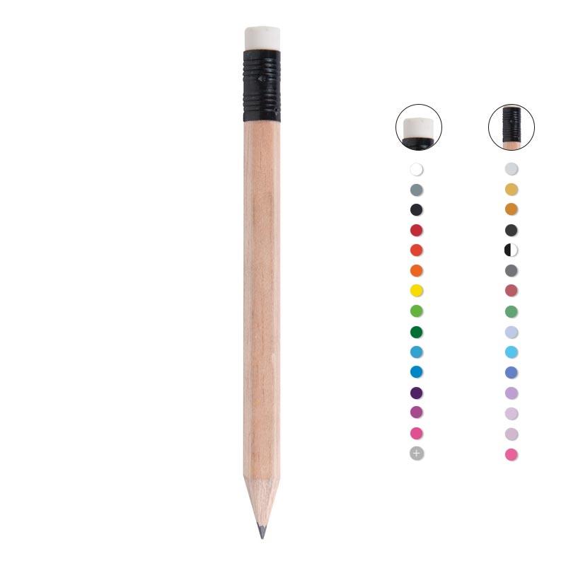 crayon à papier publicitaire écologique écolo tête gomme naturel Luiso
