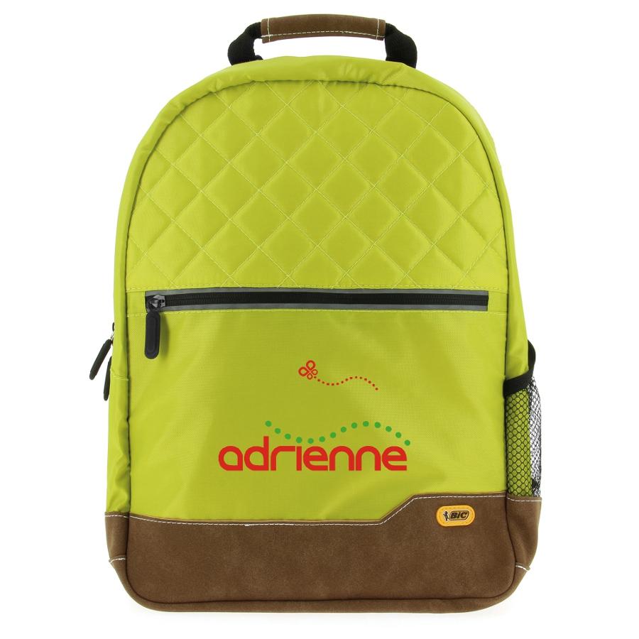 Sac à dos personnalisable Bic® Classic Backpack SP noir - cadeau publicitaire personnalisé