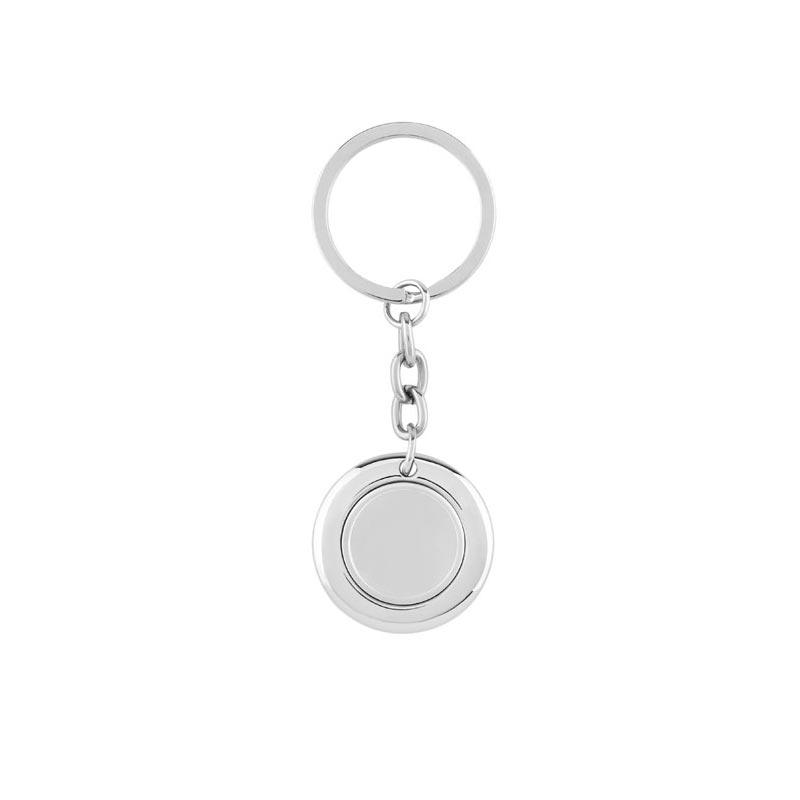 Porte-clés personnalisable avec jeton aimanté  Flat Ring