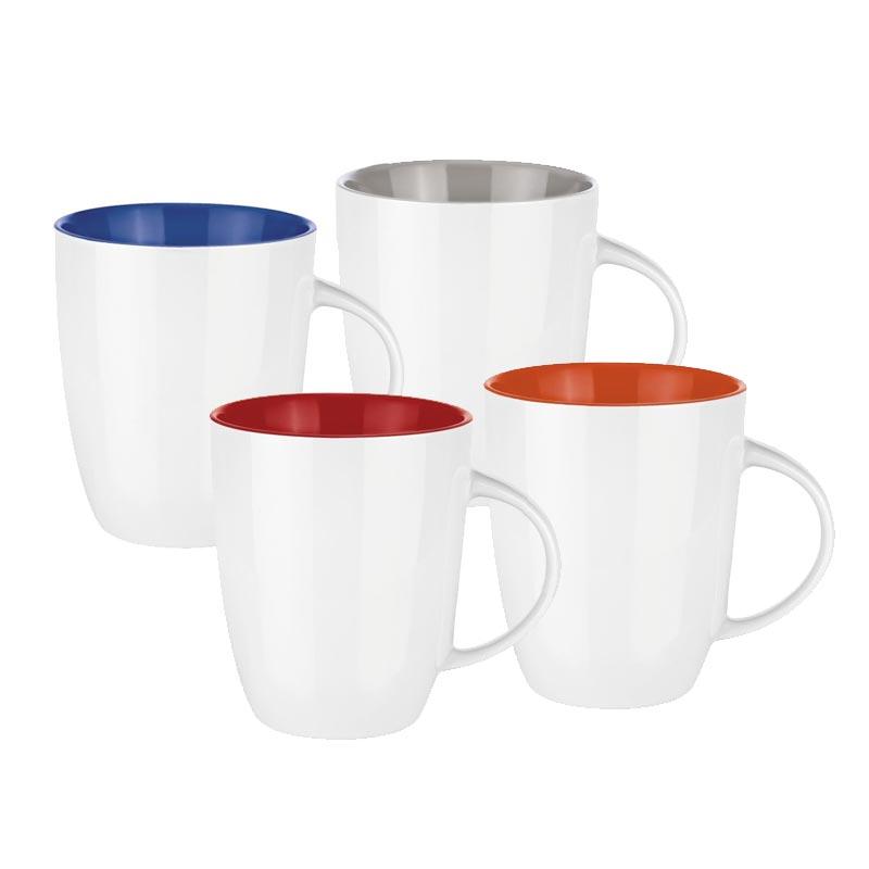 Mug publicitaire Pics Elite Inside 250mL - Coloris rouge