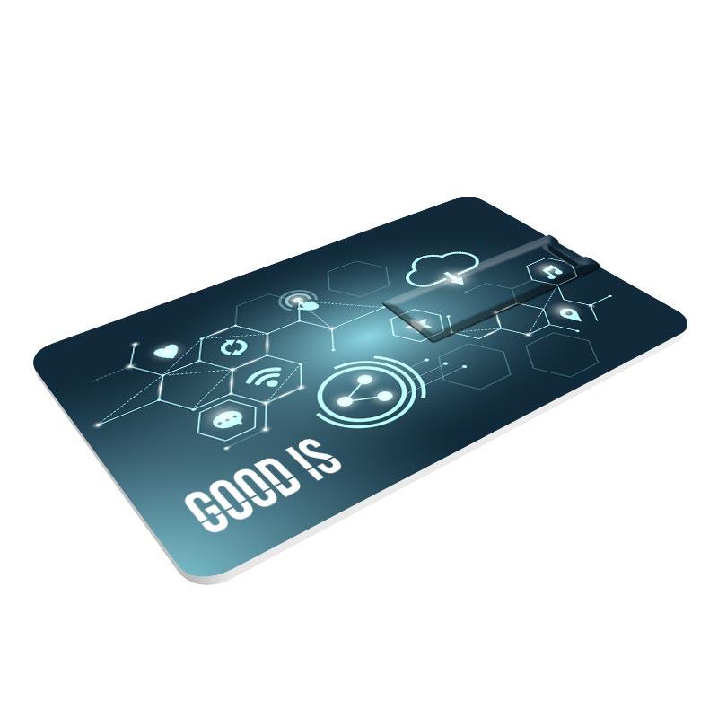 Clé USB publicitaire Credit Card - Goodies salon