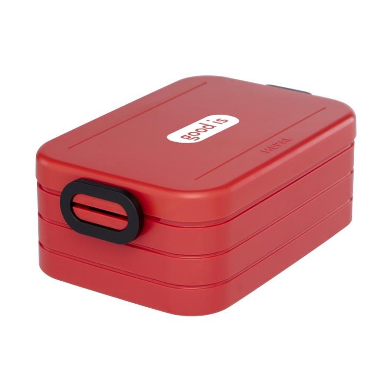 Lunch box publicitaire Take-a-Break - Coloris rouge