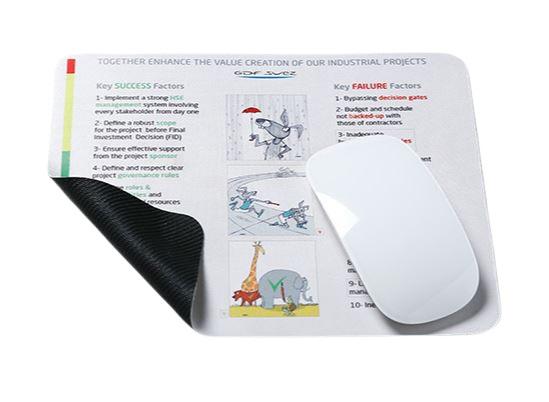 Tapis de souris publicitaire en microfibre 1