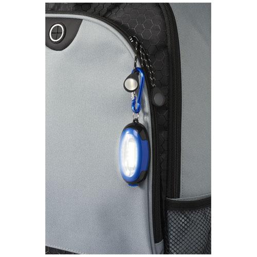 objet publicitaire bricolage - Lampe cob personnalisée et mousqueton Atria