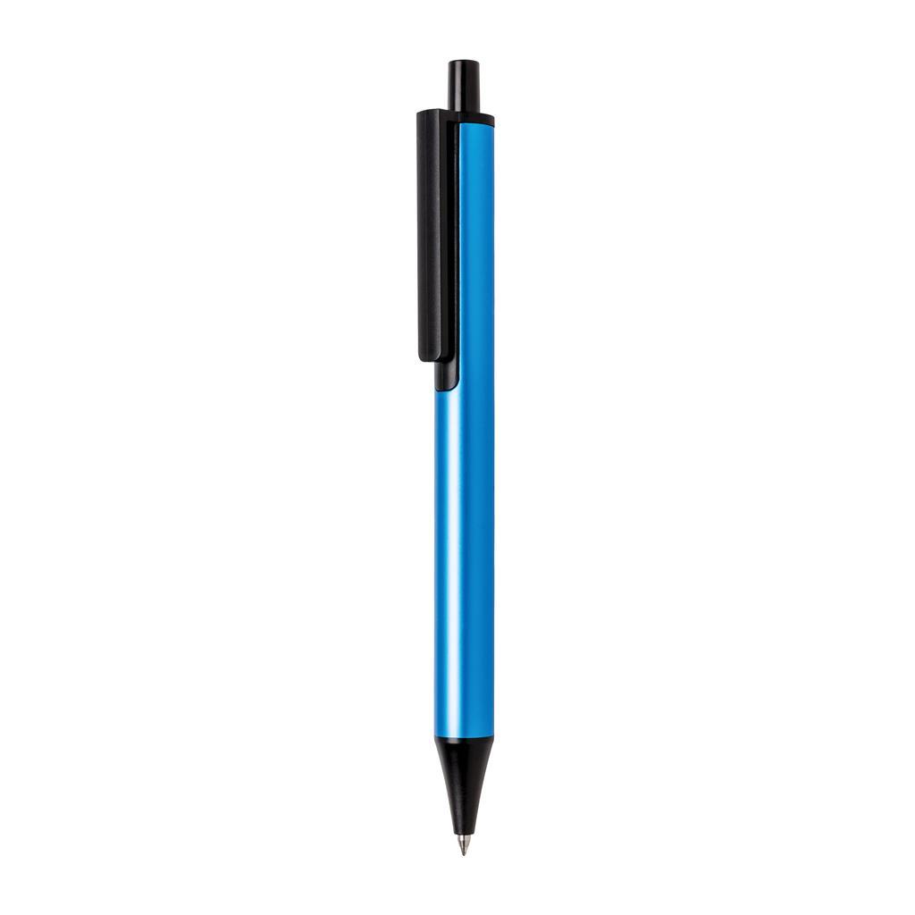 Stylo bille personnalisé X5 bleu