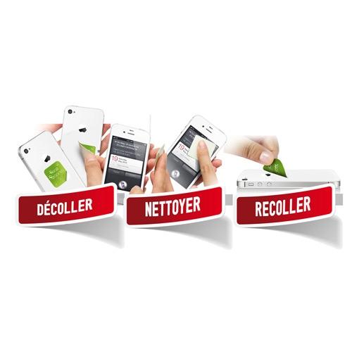 Sticky cleaner microfibre Quadri - Nettoyeur d'écran publicitaire- Goodies